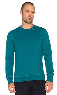 Reigning Champ Crewneck Sweatshirt in Dark Turquoise