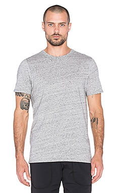 Reigning Champ Jersey Tee in Asphalt