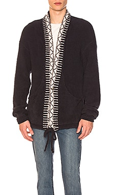 Native Polyester Mole Cardigan