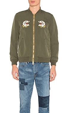 Куртка бомбер nylon 66 alaska - Remi Relief