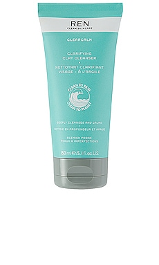 ClearCalm Clarifying Clay Cleanser REN Clean Skincare $32