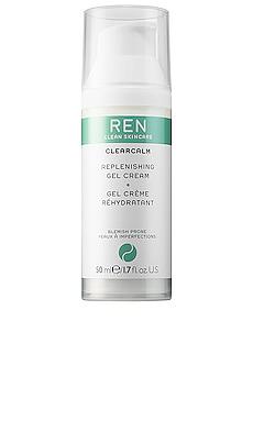 Clear Calm Replenishing Gel Cream REN Clean Skincare $42