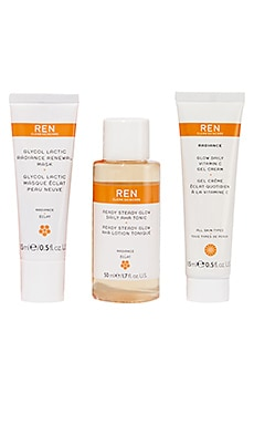 Radiance Kit REN Clean Skincare $25