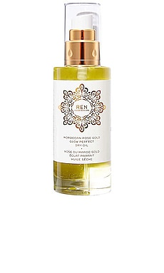 Moroccan Rose Gold Glow Perfect Dry Oil REN Clean Skincare $60