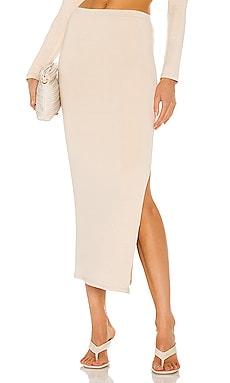 Side Split Skirt RE ONA $75 BEST SELLER