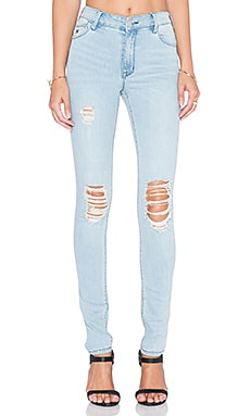 RES Denim Kitty Skinny in Love Moves Destroy