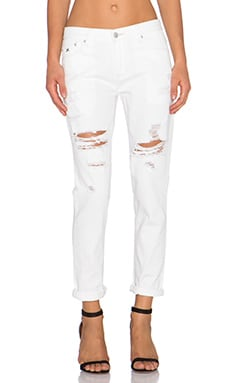 RES Denim Romeo Boyfriend in White Walker