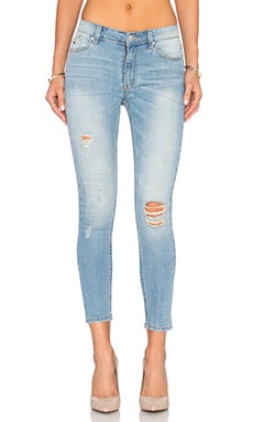 RES Denim Kitty Skinny Crop in Blue Light Destroyer