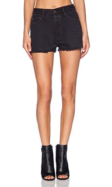 RES Denim Wanda Cut-Off Short in Coal