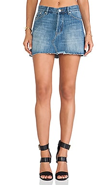 RES Denim Miss World Mini Skirt in Phoenix