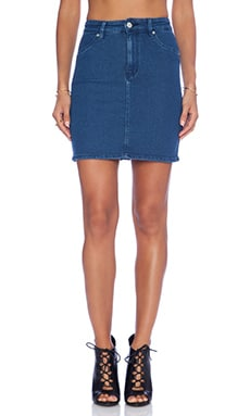 RES Denim Lil' Lover Skirt in True Blue
