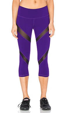 Mia Capri Legging in Purple Passion