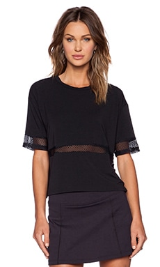 Rese Lexi Tee in Black