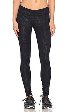 Rese Flora Legging in Black Paisley Print