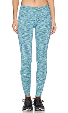 Rese Meg Legging in Blue & Lime