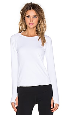 Rese Stella Long Sleeve Top in White