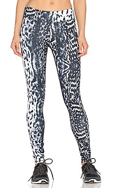 Rese Kori Printed Legging in Black & White Jaguar