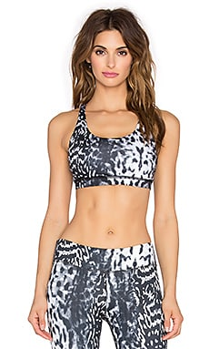 Rese Melody Bra in Black & White Jaguar