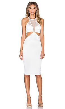 REVERSE Night Cap Dress in White