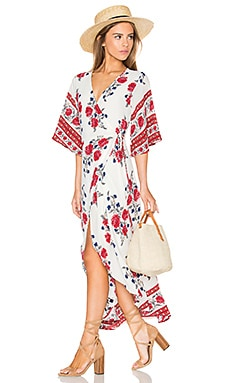 REVERSE Caught Lookin' Dress in White Floral