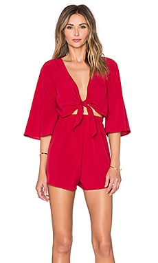 REVERSE Sassy Style Romper in Red