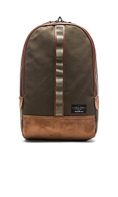 rag & bone Derby Backpack in Black Olive