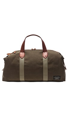rag & bone Derby Overnight Bag in Black Olive