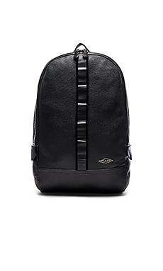 rag & bone Derby Backpack in Black Leather
