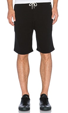 rag & bone Standard Issue Sweatshort in Black