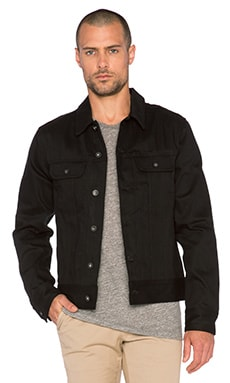 rag & bone Jean Jacket in Black Selvage