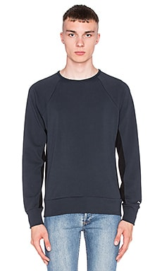 rag & bone David Sweatshirt in Abyss Navy