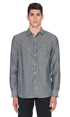 rag & bone Beach Shirt in Black