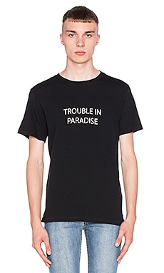 rag & bone Trouble In Paradise Tee in Black