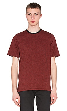 rag & bone Jaxx Tee in Fiery Red