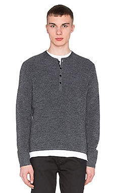 rag & bone Garrett Henley in Charcoal