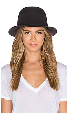 rag & bone Hackman Fedora in Grey