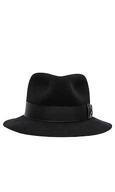 rag & bone Williams Fedora in Black