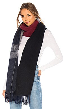 Mixed Check Scarf Rag & Bone $295 Collections