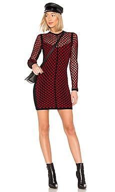 Купить Платье wes - Rag & Bone, Длинные рукава, Китай, Красный