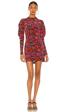 Stephanie Printed Mini Dress Rag & Bone $495 BEST SELLER