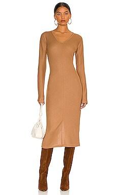 The Knit Rib Bias Dress Rag & Bone $375 NEW