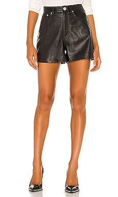 Super High Rise Leather Short Rag & Bone $595 Collections