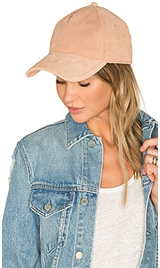 Marilyn Baseball Cap in Rose Dust