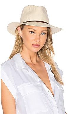 Straw Fedora in Natural