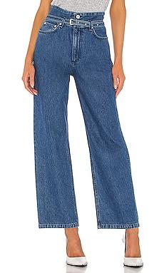 Широкие джинсы paper bag - Rag & Bone