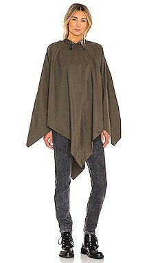Addison Rain Poncho Rag & Bone $117 Sustainable