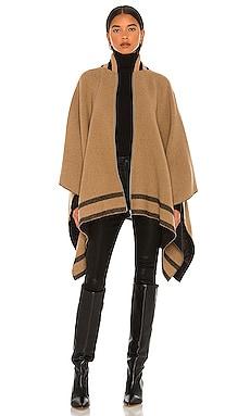 Varsity Zip Poncho Rag & Bone $450 NEW