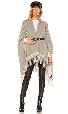 Striped Poncho Rag & Bone $350 Collections