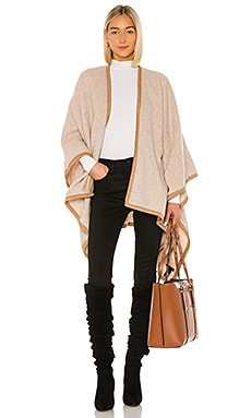 Contrast Edge Poncho Rag & Bone $395 Collections