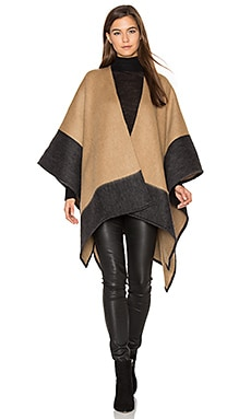 Double Faced Wrap in Camel